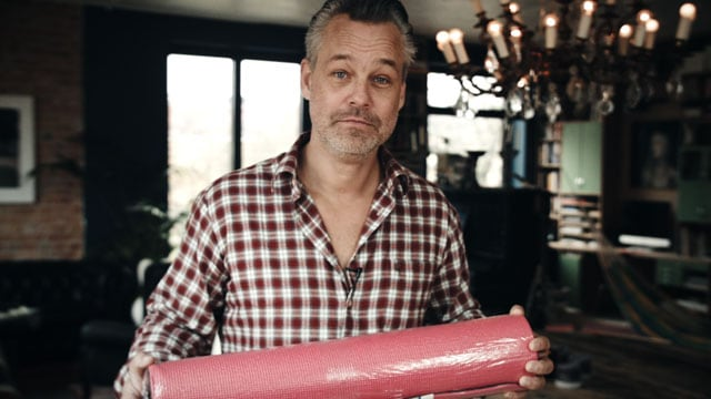 Ge bort Henrik Schyfferts yogamatta i julklapp
