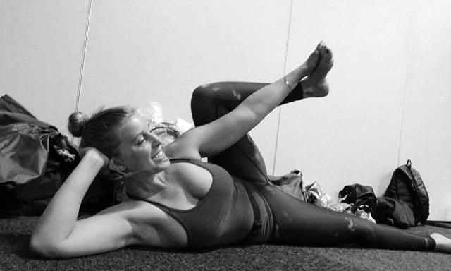 Sköna höftöppnare med Anja Bergh på Yoga Games