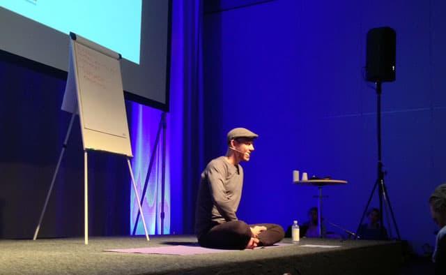 Simon Krohn på Yoga Games