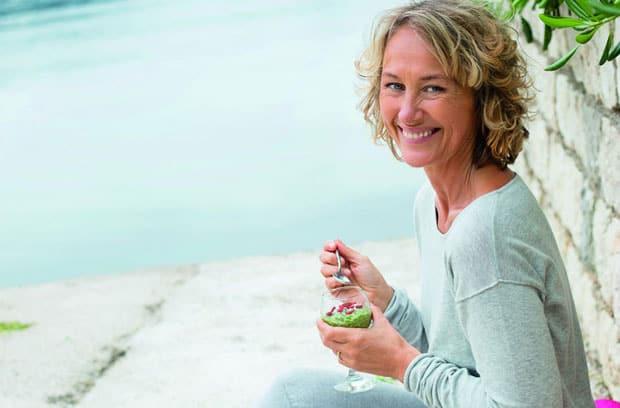 Karin Björkegren Jones är aktuell med boken 21 dagar till ett friskare liv