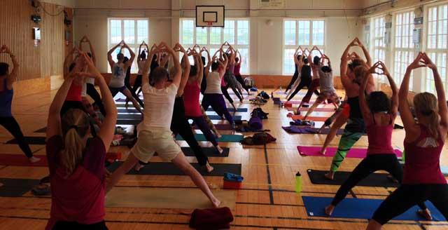 Yogaweekend i Göteborg med Sianna Sherman