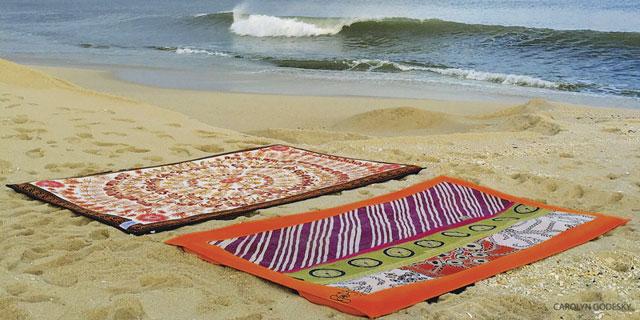 Twisted Guru - Yogamatta för stranden