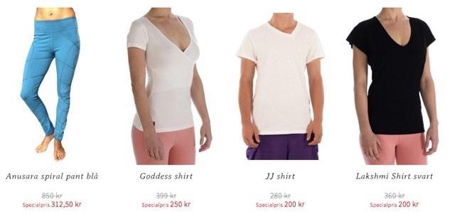 Sommarens Rea på Yogakläder