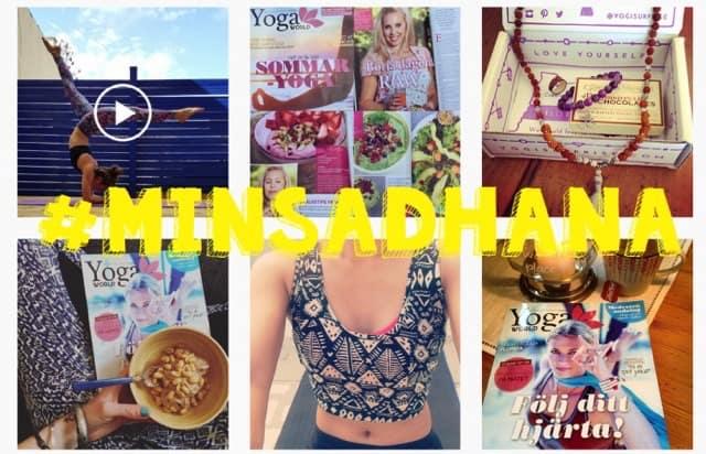 Instagramutmaning med Yogaworld