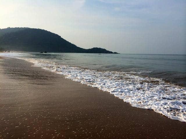 I Goa finns många härliga stränder