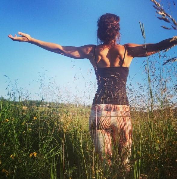 Yogaläraren Mariell Ehlin