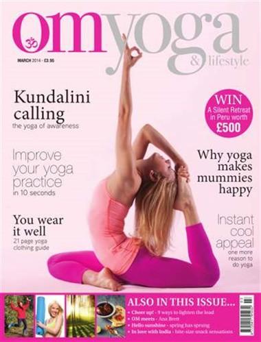 Engelska tidningen Om Yoga